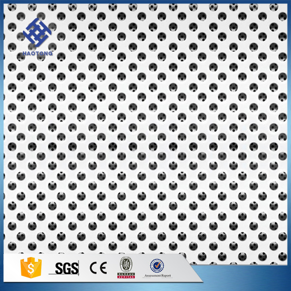 Aluminum alloy perforated mesh